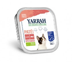Yarrah Paté Lachs mit Omega 3 & 6