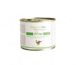 OrganicVet Pute mit Zucchini & Kürbis für Katzen