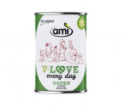 AMI Dog V-Love GREEN