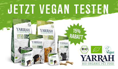 Jetzt vegan von Yarrah testen!