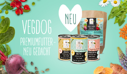 NEU! Veganes Premiumfutter bei VegaNapf