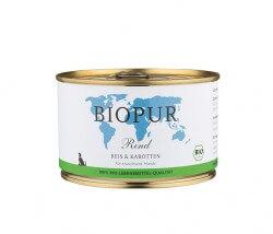 Biopur Rind, Reis & Karotten