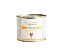 OrganicVet Huhn mit Karotte für Katzen