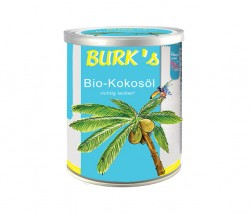 BURK's Kokosöl (Weißblech-Dose)