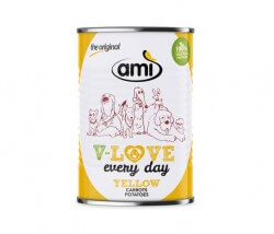 AMI Dog V-Love YELLOW