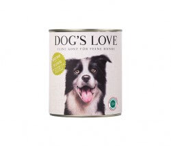 Dog's Love HUHN, Buchweizen, Sellerie & Basilikum