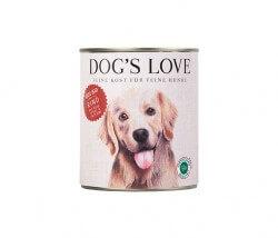 Dog's Love RIND, Naturreis, Apfel & Zucchini