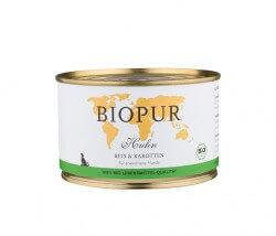 Biopur Huhn, Reis & Karotten