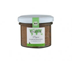 MHD-Ware Biopur Dinkel & Zucchini im Glas (vegan)