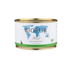 Biopur Welpe Rind, Reis & Karotten